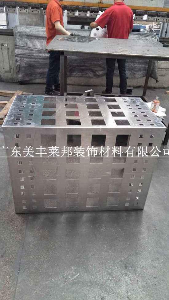 广东铝合金空调罩 空调室外机罩定做